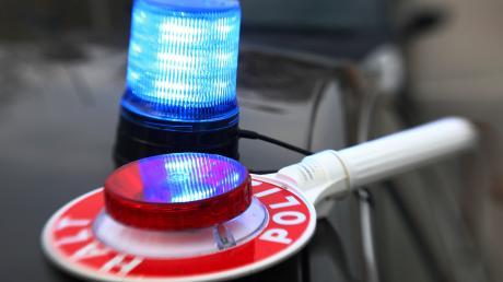 Bei einer Kontrolle zogen Beamte in Kellmünz einen Mann aus dem Verkehr.