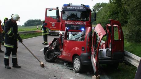 Beim Frontalzusammenstoß mit einem Linienbus bei Inchenhofen wurde Ende August ein Autofahrer schwer verletzt.