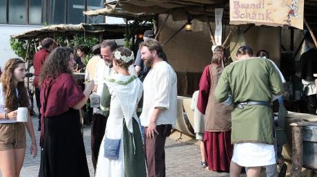 Zum fünften Mal finden die Historischen Markttage in Inchenhofen nächstes Jahr vom 24. bis 26. Juli statt.