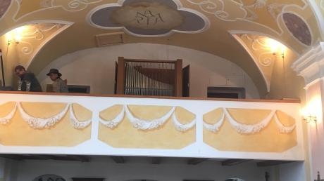 Die Au-Kapelle in Obergriesbach hat eine neue Orgel.