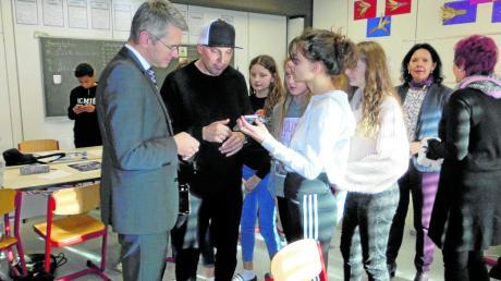 Beim Smart Camp übten Schüler drei Tage lang den richtigen Umgang mit dem Smartphone.