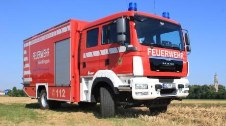 Der Gerätewagen Logistik 2 der Nördlinger Feuerwehr: So ein Fahrzeug steht voraussichtlich in gut zwei Jahren im Aindlinger Feuerwehrhaus.