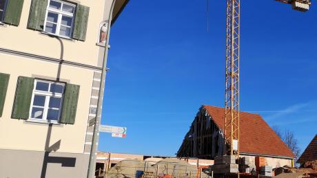 Der historische Dreiseithof in Heretshausen bekommt zwei weitere seniorengerechte Wohneinheiten.