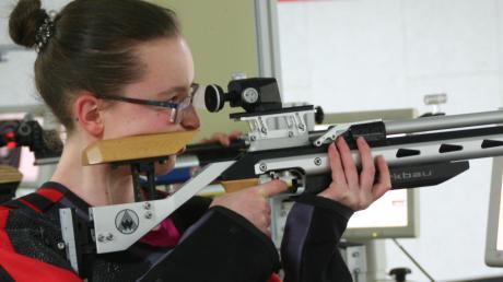 Die Kühbacher Schützen sind stolz auf Helena Müller.