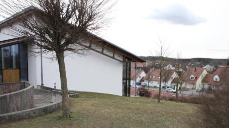 Der Bau der neuen Kindertagesstätte, die an die Turnhalle anschließen wird, ist der größte Investitionsbrocken der Gemeinde in diesem Jahr.