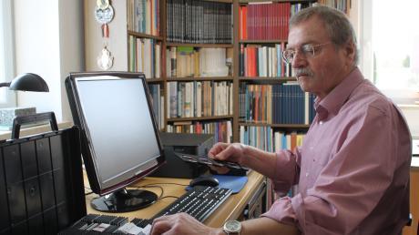 Kreisheimatpfleger Michael Schmidberger aus Schiltberg feiert heute seinen 70. Geburtstag.