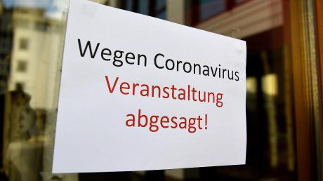 Im Landkreis Aichach-Friedberg wurden bereits zahlreiche Veranstaltungen aufgrund des Coronavirus abgesagt.