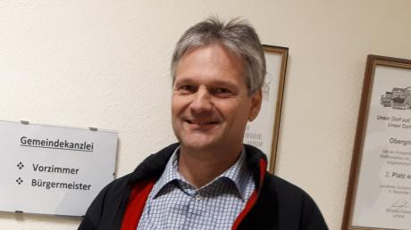 Jürgen Hörmann aus Zahling gewann nicht nur die Bürgermeisterwahl in Obergriesbach. Er erhielt auch bei der Gemeinderatswahl die meisten Stimmen.