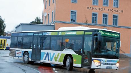 Das AVV-Logo bleibt, die Busunternehmen werden andere zum Fahrplanwechsel im Dezember.
