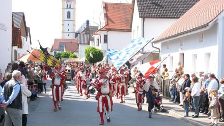 Im Juli sollte heuer das Historische Marktfest in Inchenhofen über die Bühne gehen. Doch das Coronavirus macht den Veranstaltern nun einen Strich durch die Rechnung.