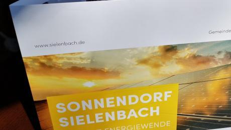 """So sieht der neue Energieflyer des """"Sonnendorfs"""" aus."""