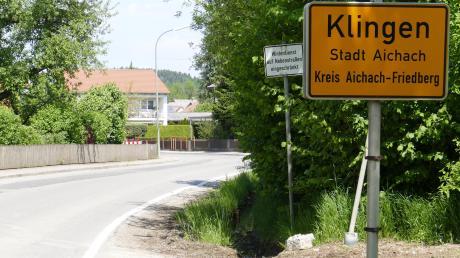 Am heutigen Montag beginnt in Klingen der Ausbau der Blumenthaler Straße. Am Ortsanfang wird eine Querungshilfe gebaut.