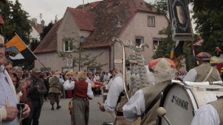 Das Historische Marktfest in Pöttmes wird auf 2021 verschoben.