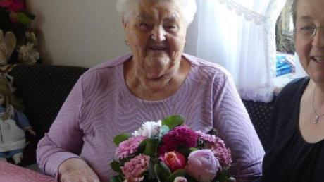 Franziska Cirpka feierte ihren 90. Geburtstag.