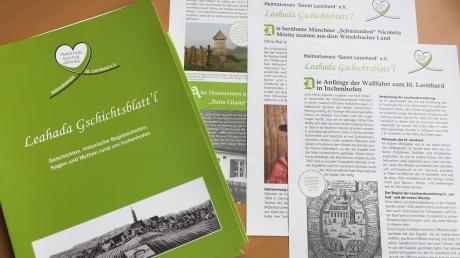 Das Leahada Gschichtsblatt´l soll die Inchenhofener Ortsgeschichte bewahren und verbreiten.