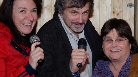 """""""VoiceBeinand"""" – das sind Tina Lechner, Andy Mayerle und Uli Mill. Am 18. Juli sind sie im Canada."""