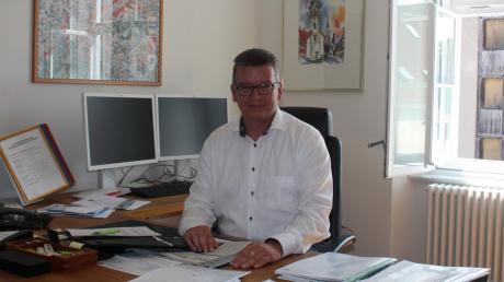Mirko Ketz (CSU) ist seit Mai neuer Bürgermeister von Pöttmes.