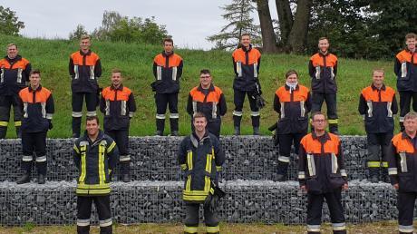 MTA-Prüfung bei der Feuerwehr Inchenhofen,.