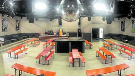 Die Diskothek M-Eins in Aichach wird zur Gaststätte.