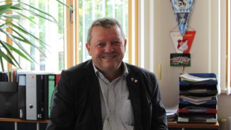 Der Adelzhausener Bürgermeister Lorenz Braun feiert am Freitag 60. Geburtstag.