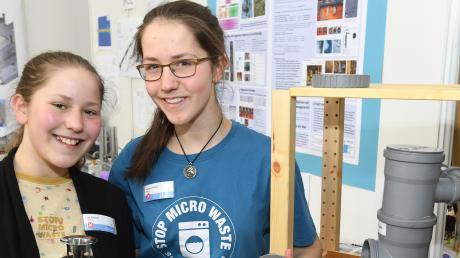 Zoe (links) und Leonie Prillwitz wurden geehrt.