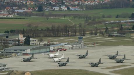Auf dem ehemaligen Fliegerhorst in Penzing gelangte PFC in den Boden und das Grundwasser.