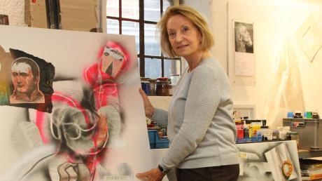 Gabriele Pillon aus Schondorf steckt voll kreativer Kraft. In ihrem Beruf als Bühnenbildnerin arbeitete sie in vielen Theatern der Welt.
