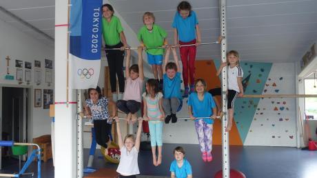 Endlich wieder gemeinsam Turnen hieß es in den Pfingstferien beim Ammersee-Sportverein in Dießen.