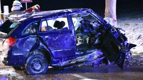 Drei Menschen verloren im Landkreis Weilheim-Schongau 2020 bei Verkehrsunfällen ihr Leben. Im Vorjahr waren es noch sieben.