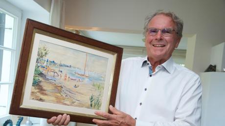 Jochen Seifert, Begründer der JES-Kulturstiftung in Holzhausen, besitzt ein Gemälde der Ehefrau von Ludwig Bock, Hansl Bock.