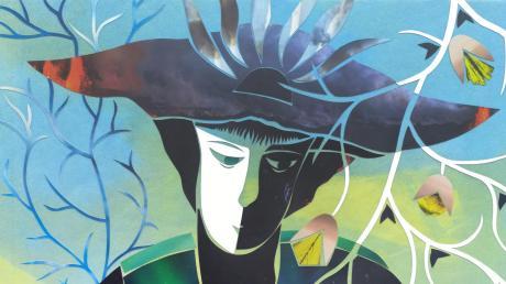"""""""Zwei Seelen"""" lautet der Titel dieses Werks von Barbara Manns, das im Rahmen der Uttinger Ateliertage zu sehen sein wird."""