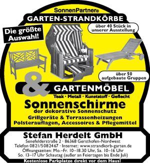 Bei Herdelt In Gersthofen Gibt S Die Passenden Gartenmobel Und