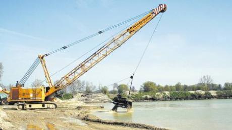 Die Arbeiten für das künftige Naherholungsgebiet Kühlentals sind in vollem Gange. Die Wasserfläche des Badesees wird etwa zwei Hektar betragen.
