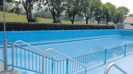 Attraktiver soll das alte Becken im Freibad werden.