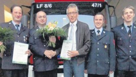 Der Führungswechsel bei der Bonstetter Feuerwehr geht mit einem Generationenwechsel einher.