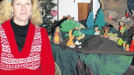 Sonja Fischer aus Allmannshofen ist hauptberufliche Märchenerzählerin. Sie kommt viel herum.