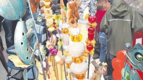130 Fieranten und Schausteller warten am Wochenende auf die Marktbesucher am Kloster Holzen.