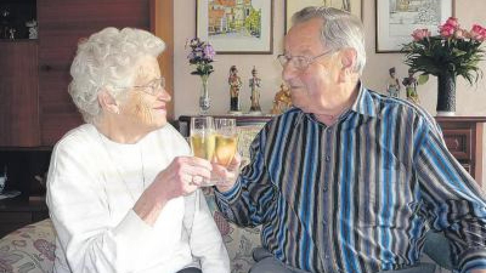 Diamanthochzeit: Von der Nachbarin zur Ehefrau