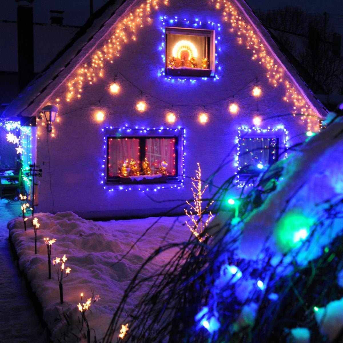 Fotoaktion: Welches Haus leuchtet nachts am schönsten? - Nachrichten ...