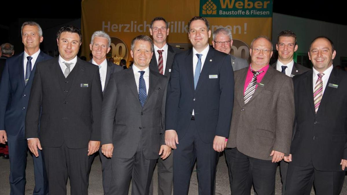 Kemmler Neu Ulm weber baustoffzentrum feiert in diedorf 100 jahre bestehen