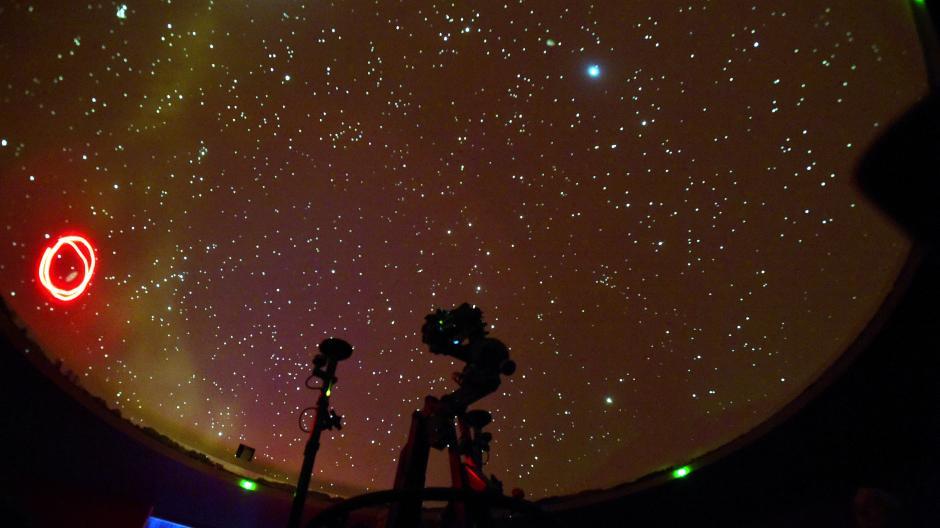 Planetariumshimmel in Streitheim