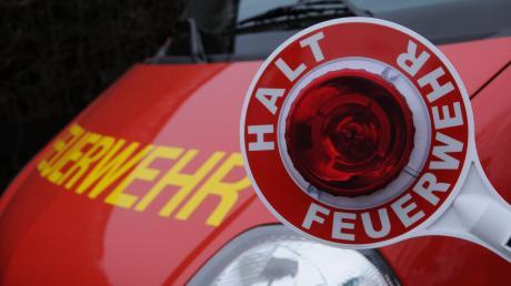 Abgebrannt ist am Donnerstag das Gewächshaus in einem Schrebergarten im Gemeindegebiet Gablingen.