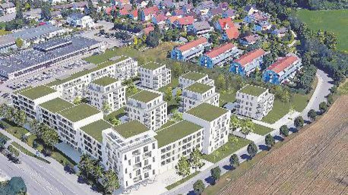 gersthofen wohnquartier ersetzt baumarkt nachrichten augsburg land gersthofen neus. Black Bedroom Furniture Sets. Home Design Ideas