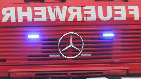 Einen etwas anderen Einsatz hatten die Feuerwehren aus Fischach und Wollmetshofen.