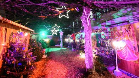 Der Märchenwald im Gersthofer Wintermärchen. Hier bekommen Sie die Infos rund um Start, Termine und Öffnungszeiten.