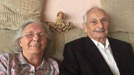 Ihre eiserne Hochzeit feierten jetzt Karollina und Erwin Huber, beide 87 Jahre alt, aus Margertshausen.