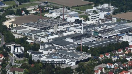 Rund 1500 Beschäftigte zählt die SGL Group und Showa Denko am Standort in Meitingen. SGL ist einer der größten Arbeitgeber in der Region.