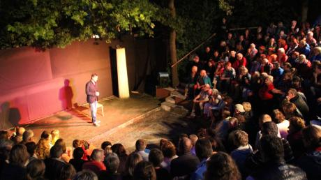 Das griechische Theater in Heretsried bietet eine tolle Kulisse für vielfältige Veranstaltungen.