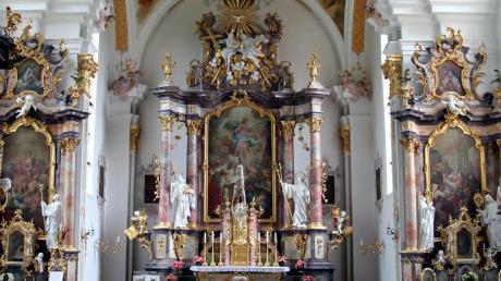 Auf den Opferstock der Kirche in Oberschönenfeld hatten es Unbekannte abgesehen.
