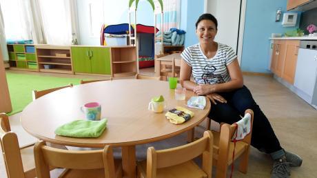 Für einen beruflichen Neustart hat sich Andrea Kottmair entschieden. Die gelernte Bankkauffrau blieb nach der Geburt ihrer Töchter mehrere Jahre zu Hause. Nun hat sie noch einmal eine Ausbildung begonnen und will Erzieherin werden.